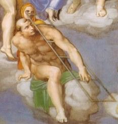 Michelangelo2C_giudizio_universale2C_dettagli_23_san_lorenzo
